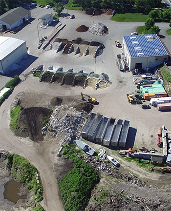 Full Service Landscape Yard and Recycling Facility